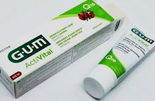 Gum Multi functional Activital toothpaste Q10 and Pomegranate  against plaque