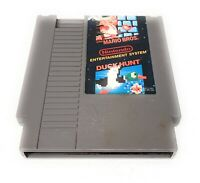 Vintage NES Nintendo Super Mario Bros Duck Hunt Combo Video Game 1985