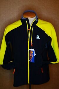Mens Large Soloman Momentum Softshell Jacket New With Tags