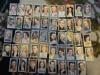 1939 CIGARETTE CARDS SET OF 48  MY FAVOURITE PART. (Films).Gallaher Tobacco.