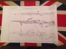 Bren Machine Gun 303 Armourer Drawings Schematics
