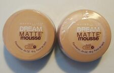 2 x Maybelline Dream Matte Mousse - Nude - Light #4 - Sealed