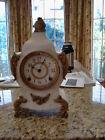Ansonia  Calais Antique Cast Iron Mantel Clock
