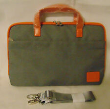 """NEW Tote Bag Legacy Plus Laptop 13"""" Tablets Padded LIned Shoulder crossbody Gray"""