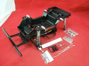 TAMIYA LUNCHBOX X-SA CHASSIS TUB FRAME A-ARMS  SPRINGS STEERING PARTS LOT new