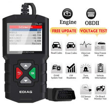 Ediag YA201 OBD2 Scanner OBD Code Reader Car Check Engine Fault Diagnostic Tool