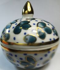 Hand Painted Thai Benjarong Porcelain Gift Ethnicities Cultures Collection jar
