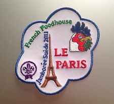 22ND World Scout Jamboree FRANCE FOODHOUSE BADGE 2011