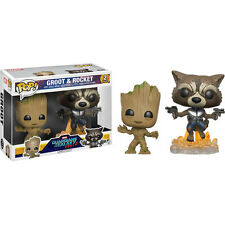 Guardians of The Galaxy Vol 2 - Groot and Rocket Pop Vinyl Figure 2-pack