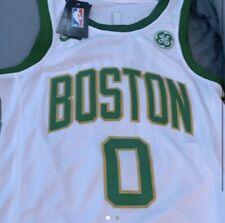Jayson Tatum Boston Celtics Nike City Edition Swingman Jersey - White