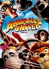 NEW CHILDREN DVD //  ANIMALS UNITED // ENGLISH & FRENCH // 94 min