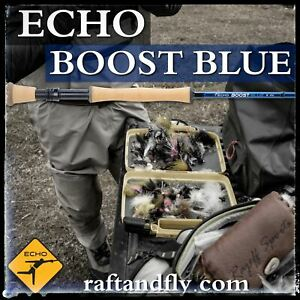 "Echo Boost Blue Saltwater | 9wt 9'0"" - Lifetime Warranty - Free Shipping U.S."