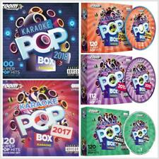 Zoom Karaoke Pop Boxes 2014-2018, 572 Chart Hits On 29 CDG Backing Tracks Discs