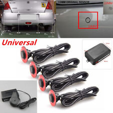 Universal Car Parking 4x Hidden Sensors Reverse Backup Radar Sound Buzzer Alarm