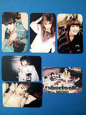 SHINEE 4th Album Sherlock 'Unofficial' PHOTO CARD SET (From Fan Site, Thin)