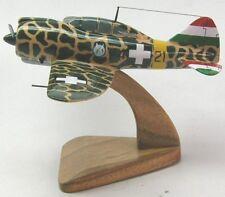 Reggiane Re-2000 Falco Airplane Desktop Wood Model Large