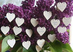 Little Heart Sign East Of India Gift Tag Wedding Friendship Fun Sayings Keepsake
