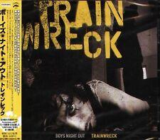 Boys Night Out - TRAINWRECK - Japan CD - NEW - 12Tracks
