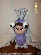DISNEY PIXAR JUST PLAY MONSTERS INC BOO IN MONSTER COSTUME OUTFIT PLUSH
