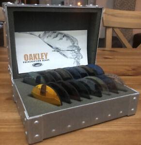 Oakley X Metal Lens Sample Large Vault With 18 Lens pucks
