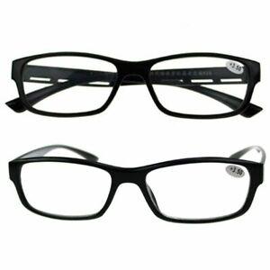 Reading Glasses 1.0 to 2.50 Unisex Mens Ladies Trendy S5F2 Designer Spring I0X3