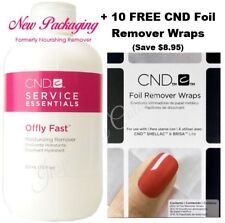 CND Offly Fast Remover 222ml ●+ 10 FREE CND Foils Wraps **Save $8.95**