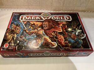 Mattel 2002 Dark World Board Game