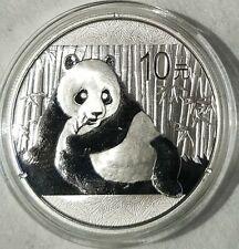2015  Chinese Silver Panda 1oz .999 Silver Bullion Coin in Capsule