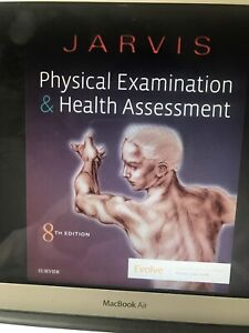 physical examination and health assessment jarvis 8th ed
