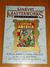 MARVEL MASTERWORKS GOLDEN AGE CAPTAIN AMERICA VOL 111 #9-12 HB GN 9780785128793