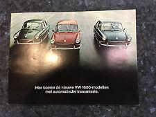 N615 VOLKSWAGEN TYPE 3 1600 BERLINE FASTBACK VARIANT
