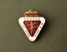 New listing Vintage Dundee ice club Scotland skating Rink Hockey Dance pin badge Miller