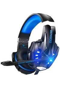 G9000 Stereo Gaming Headset for PS4 PC Xbox One PS5 Controller, Noise Cancelling