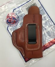 Cebeci IWB Brown Leather Holster with Comfort Tab for GLOCK 36, Right Hand RH