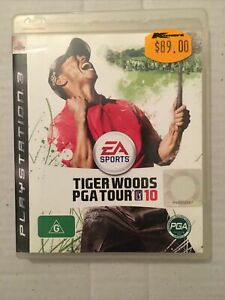 Tiger Woods PGA Tour 10 Sony Playstation 3 Game Complete with manual PAL PS3