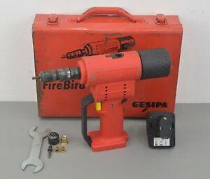 Gesipa FireBird 12V Battery Operated Blind Rivet Nut Tool w/ Case & Accs