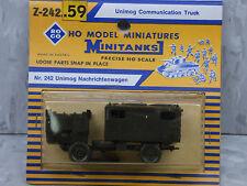 Roco Minitanks NEW 1/87 Scale West German Unimog Communication Truck Lot #98X