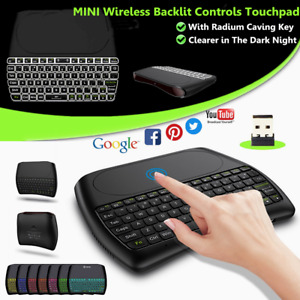 2.4 GHz Wireless Keyboard Touchpad Fly Air Mouse for Android TV Smart TV PC
