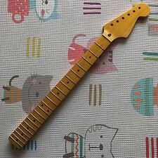 1-piece Canadian Maple Fender ST Guitar Neck 21 Fret Vintage Satin Finish NEW