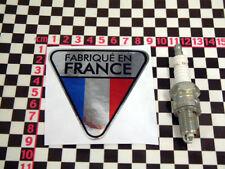Made in France Chrome Sticker - French Classic Car Sticker Citroen 2CV