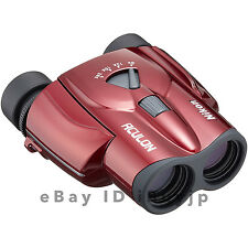 Nikon ACULON T11 8-24x25 Red Travel Sports Concert Porro Prism Zoom Binoculars
