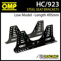 HC/923 OMP BUCKET SEAT STEEL SIDE MOUNT BRACKETS (LOW MODEL 495mm LENGTH)