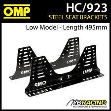 HC/923 OMP BUCKET SEAT STEEL SIDE MOUNT BRACKETS (LOW MODEL 495mm LENGTH)