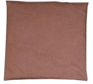 Traubenkernkissen 20x20cm BRAUN ; Wärmetherapie / Kältetherapie