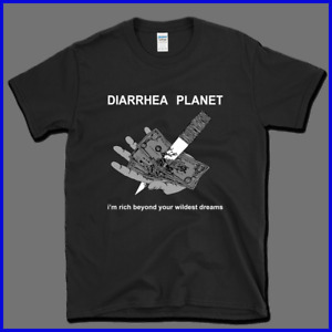 NEW Rare !! diarrhea planet T-Shirt Gildan Size S To 2XL five color choices