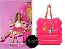 SS15 MOSCHINO COUTURE Jeremy Scott Barbie Inflatable Shoulder Bag Pink CHARMS