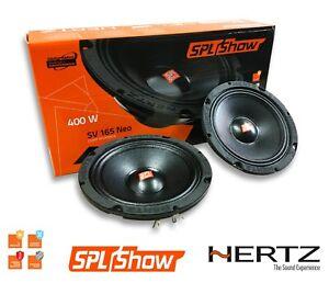 Par de Altavoces Hertz SV 165 NEO Altavoces Gama Media Spl 400W 16,5CM