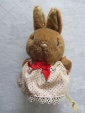 Vintage Bunnykins Lapin Royal Doulton par Golden bear soft toy 16 cm
