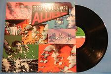 CROSBY, STILLS & NASH ALLIES LP 1983 ORIGINAL PRESS GREAT CONDITION! VG+/VG+!!