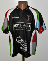 HARLEQUINS ENGLAND RUGBY UNION SHIRT JERSEY O`NEILLS SIZE XL ADULT